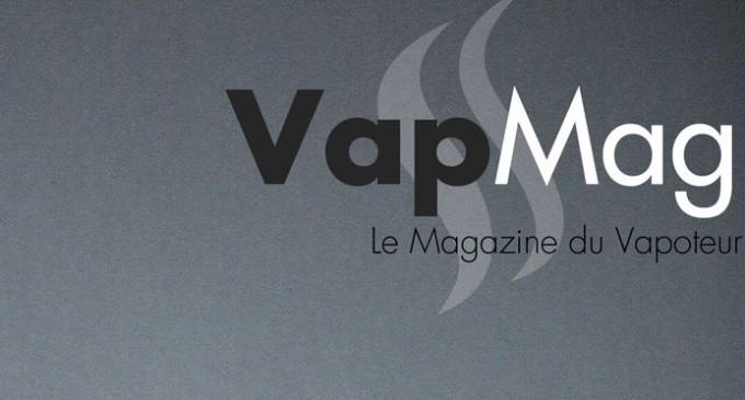 VapMag la création du logo pour la magazine du vapoteur