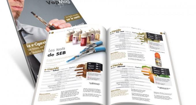 Les tests de SEB – VapMag N°1 – Novembre 2013